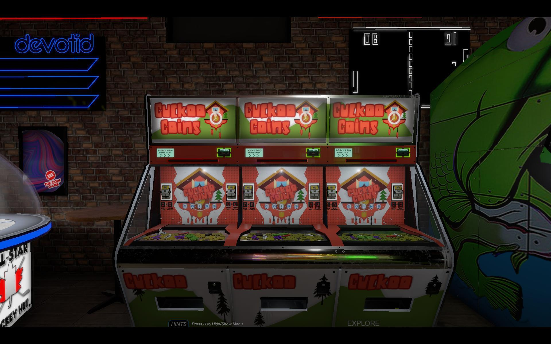 Feb 22 The Arcade is OPEN FOR BUSINESS! The Coin Game