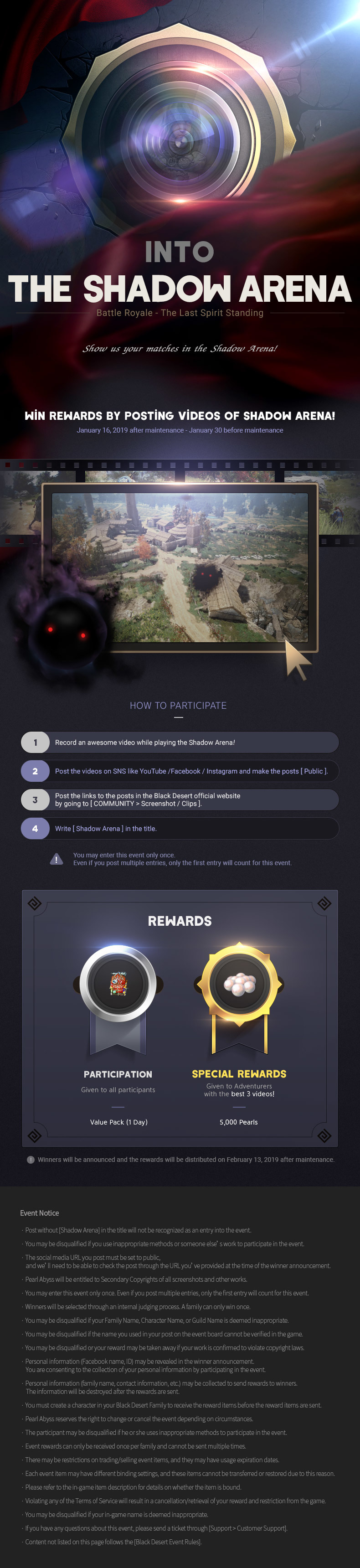 Black Desert :: [Event] Battle Royale: The Last Spirit Standing
