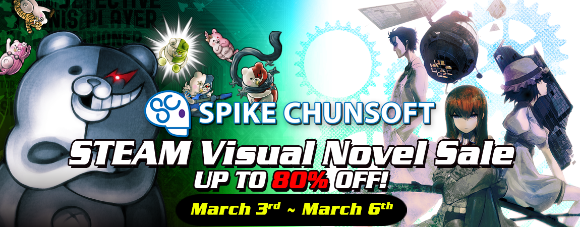 VISUAL NOVEL SALE STARTS TODAY!
