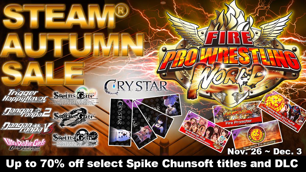 Steam Autumn Sale Starts Today!