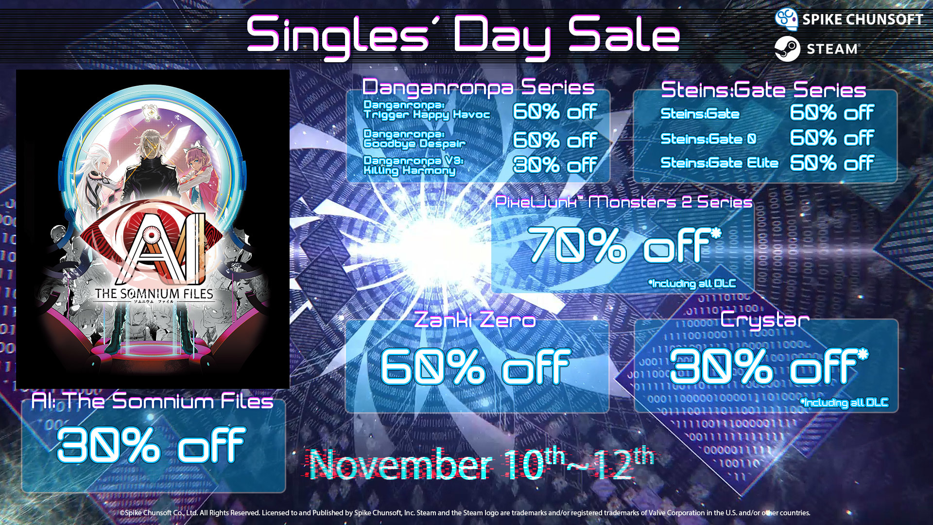 Singles' Day 2019 Sale!