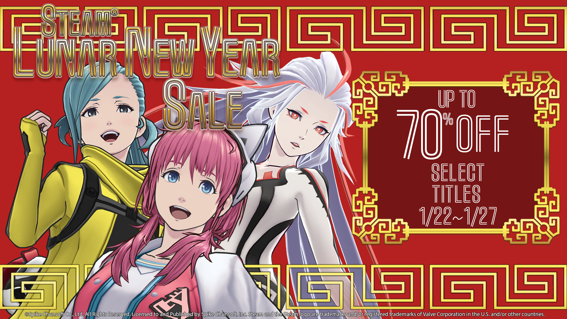 2020 LUNAR NEW YEAR SALE STARTS TODAY!