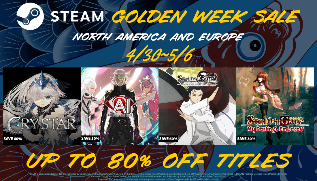 2020 GOLDEN WEEK SALE STARTS TODAY!