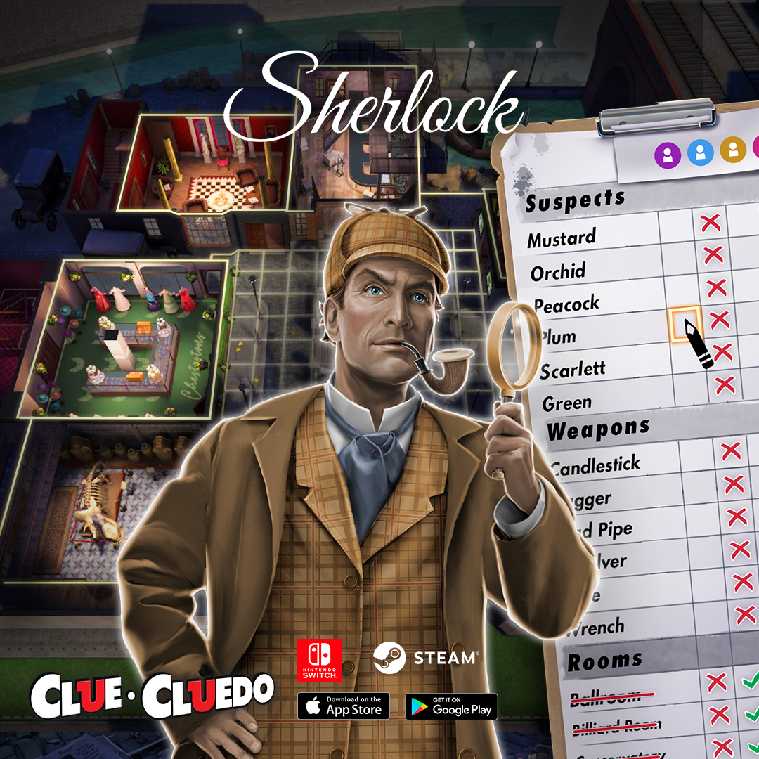 Clue/Cluedo: The Classic Mystery Game :: Group Announcements