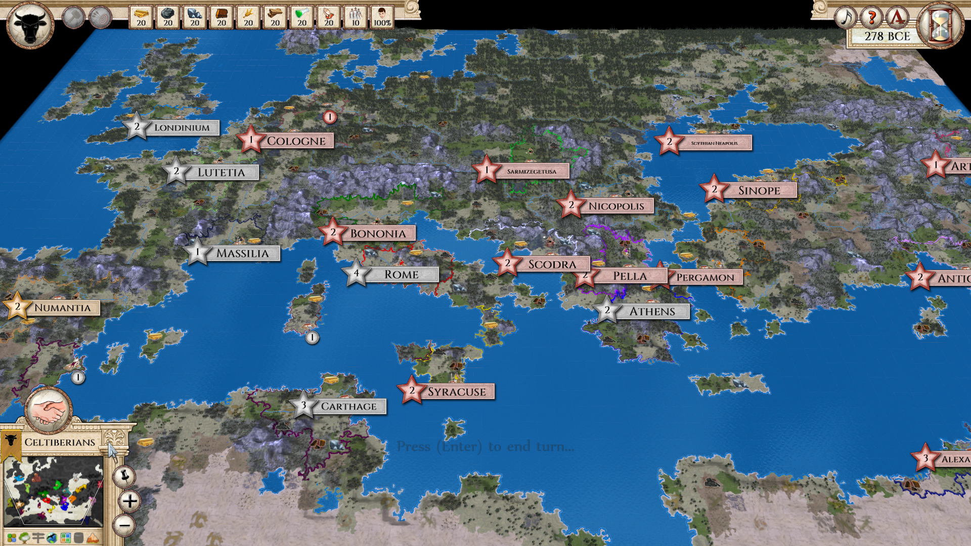 Aggressors: Ancient Rome :: The Centurion scenario on