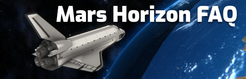 Mars Horizon FAQ