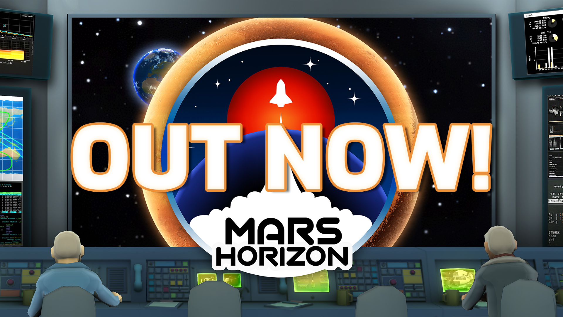 Mars Horizon is OUT NOW! 🚀
