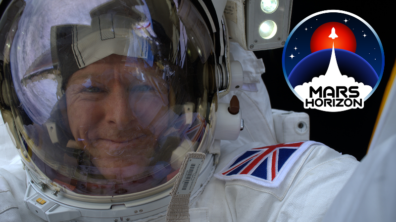 Astronaut Tim Peake is going to play Mars Horizon! 👩‍🚀🤩