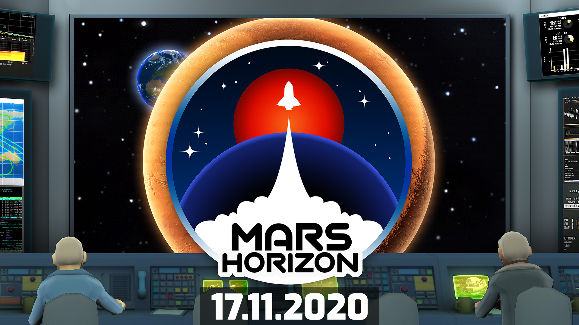 We have lift off! Mars Horizon release date announcement 👨‍🚀