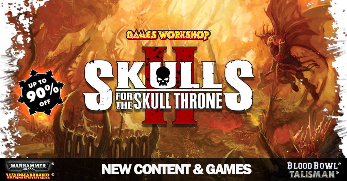Skulls For The Skull Throne Sale
