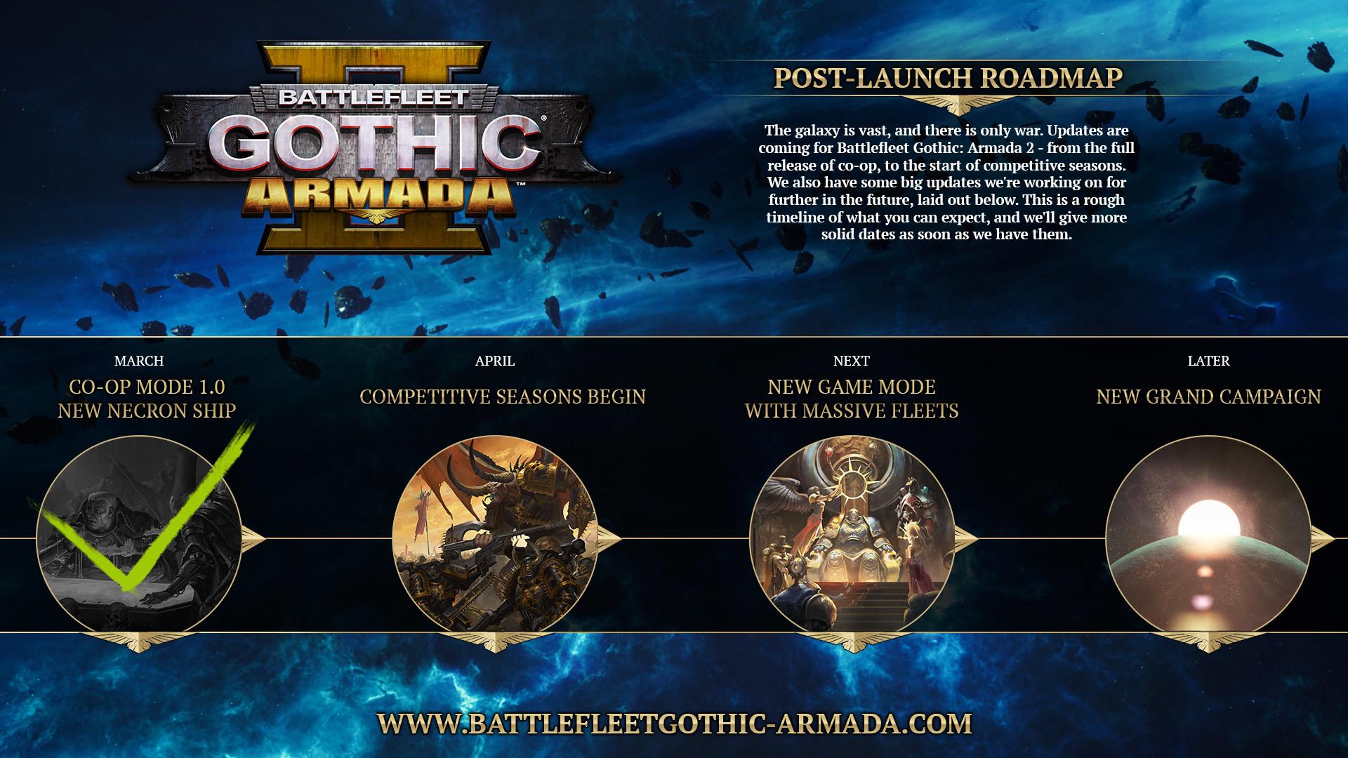 Battlefleet Gothic: Armada 2 update for March 21, 2019