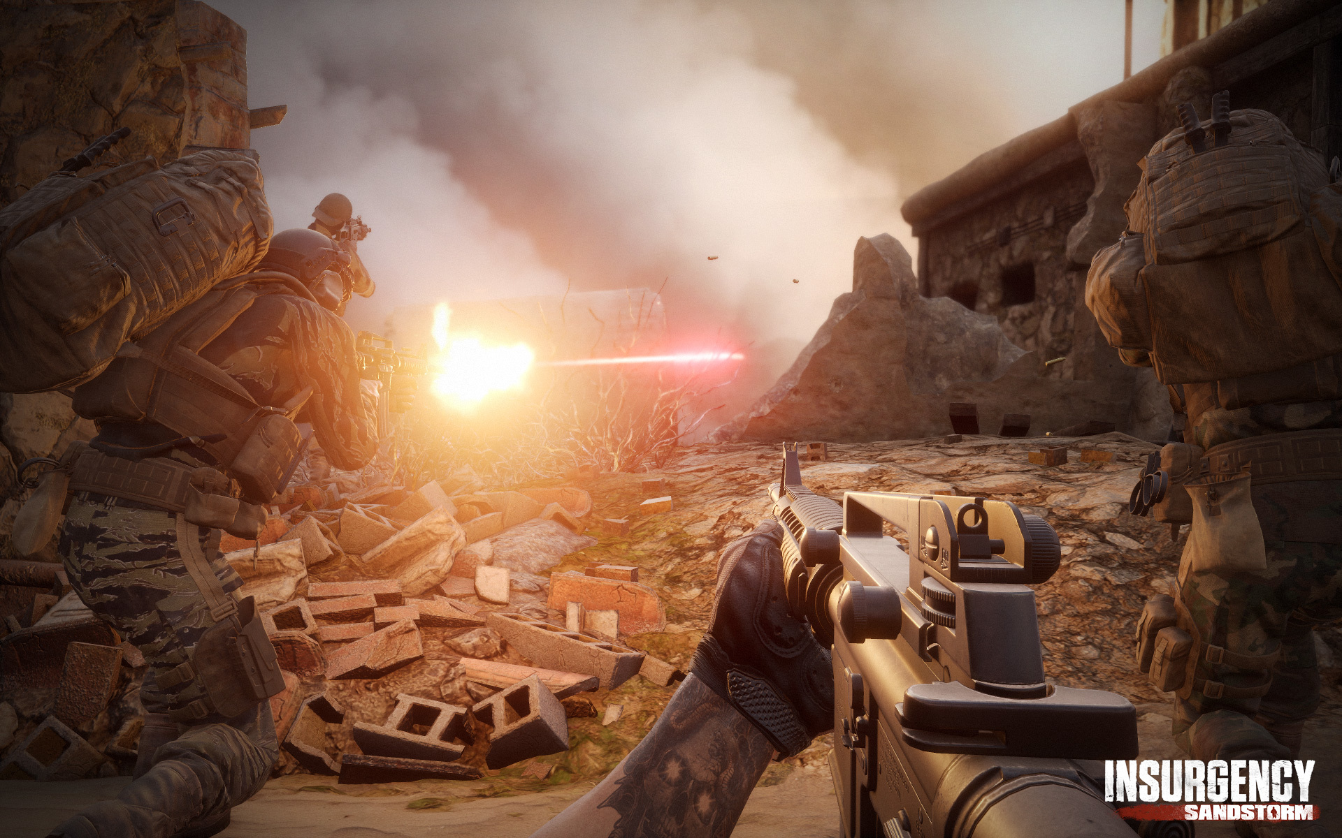 Jan 25 Watch our Accolades Trailer! Insurgency: Sandstorm - chaton