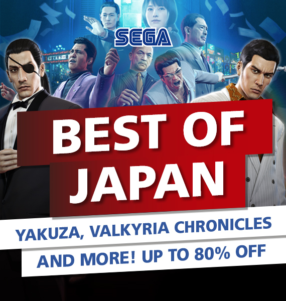 SEGA Best of Japan Sale