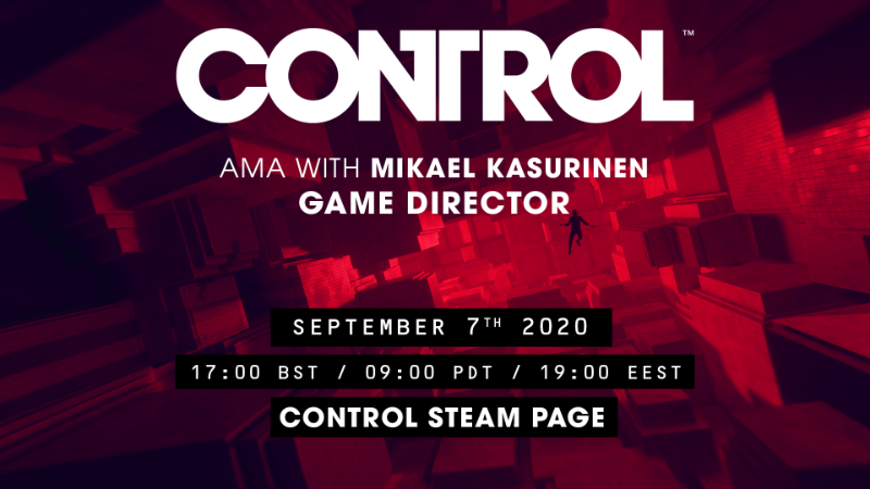 AMA STARTING SOON - with Game Director Mikael Kasurinen