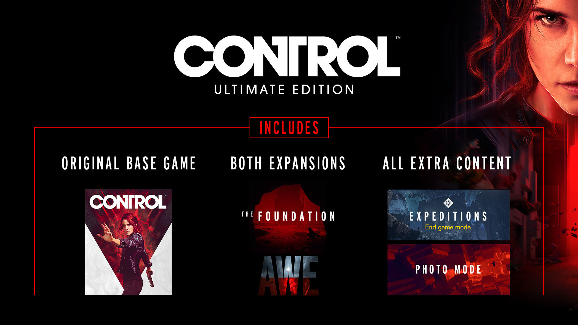 Control Ultimate Edition - Out Now!