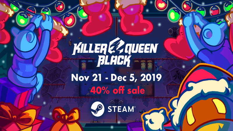 Steam :: Killer Queen Black :: Killer Queen Black Roadmap
