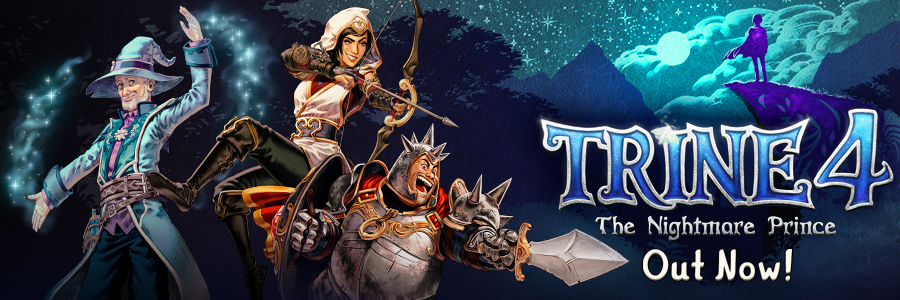 Trine 4: The Nightmare Prince Now Available!