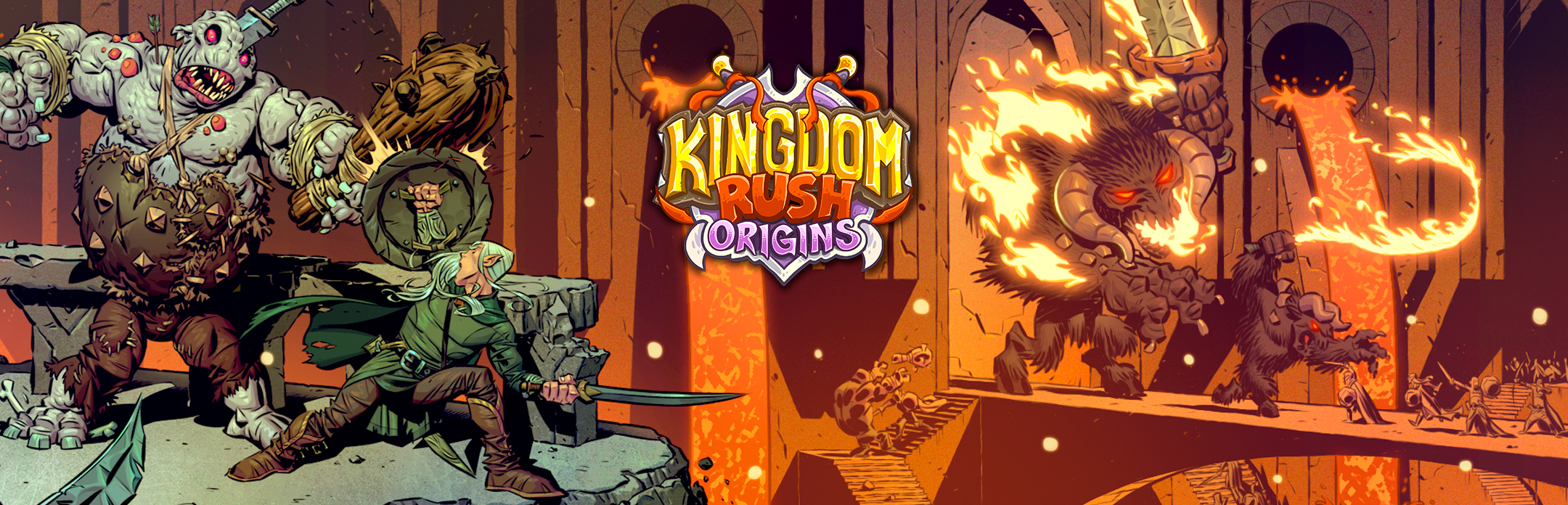 Kingdom Rush Origins :: A new expansion: Forgotten treasures is here!