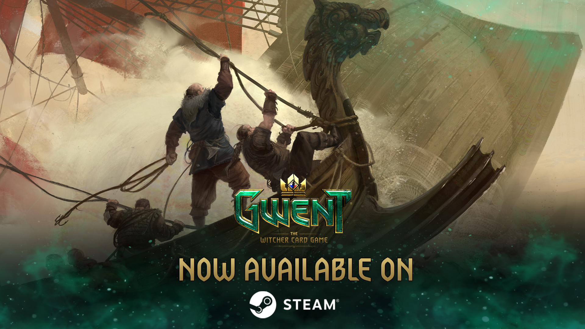 GWENT is now available on Steam!