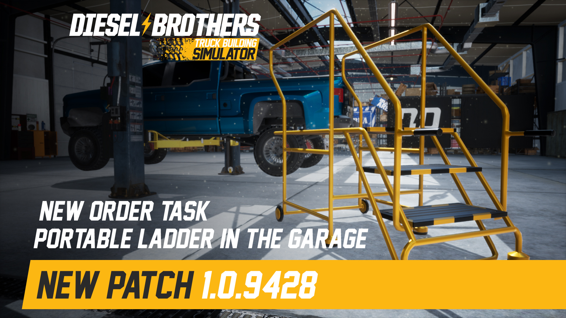 Diesel Brothers: Truck Building Simulator update for May 23, 2019