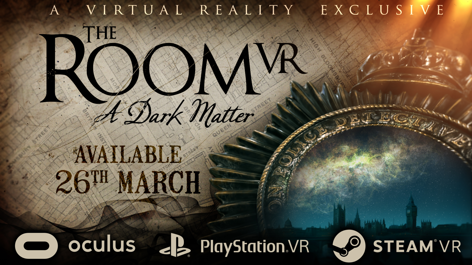 The Room VR: A Dark Matter - Coming to Steam March 26th!