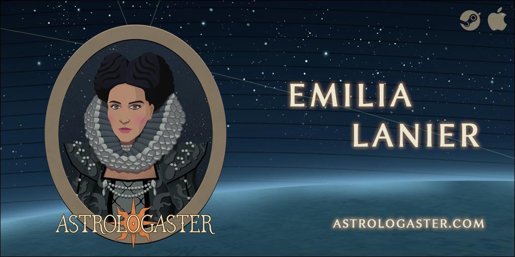Astrologaster :: Meet the patients: Emilia Lanier