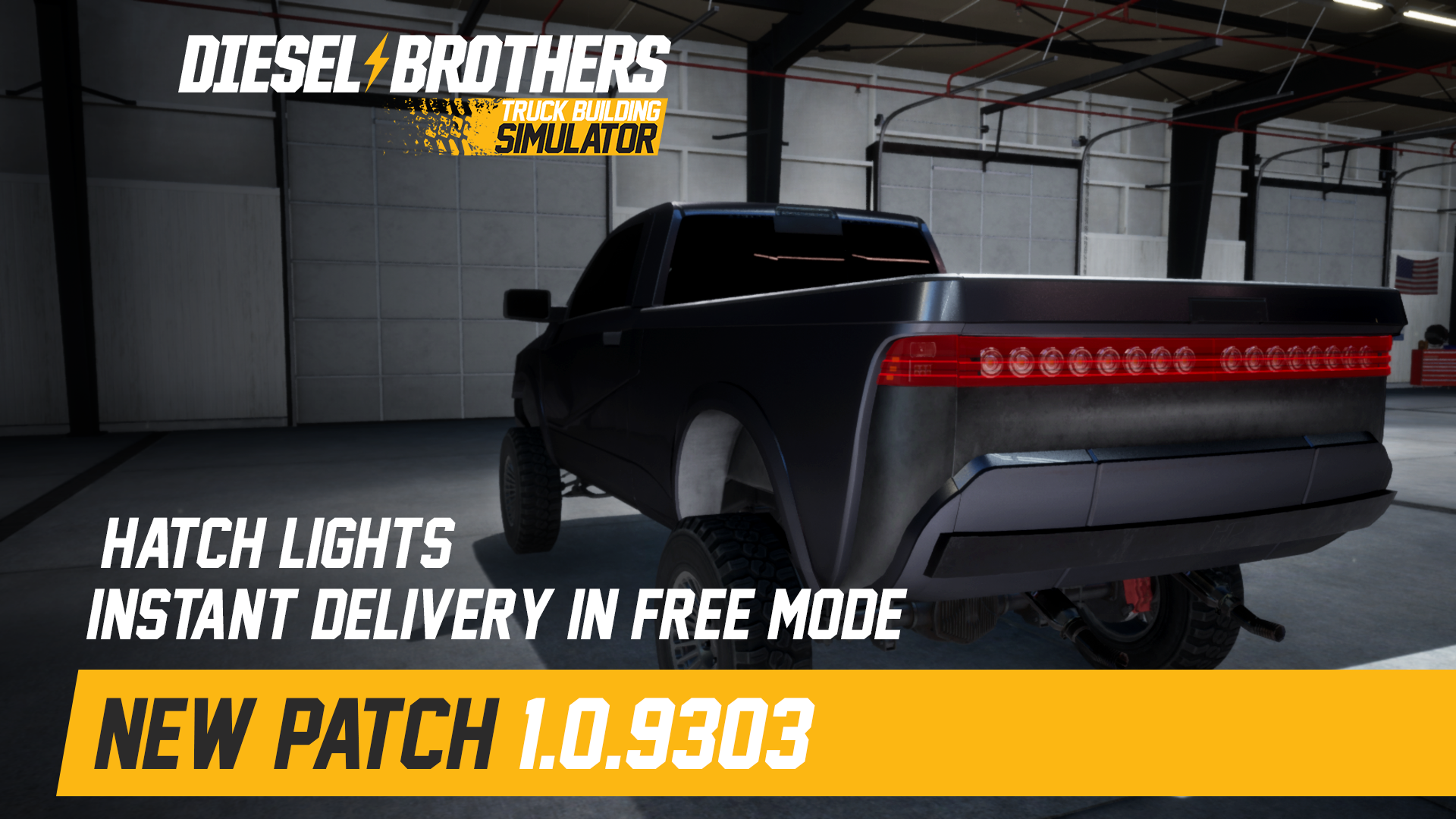 Diesel Brothers: Truck Building Simulator update for May 15, 2019