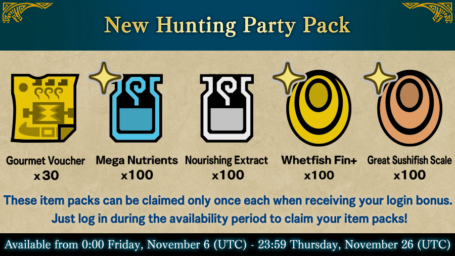 New Hunting Party Pack!