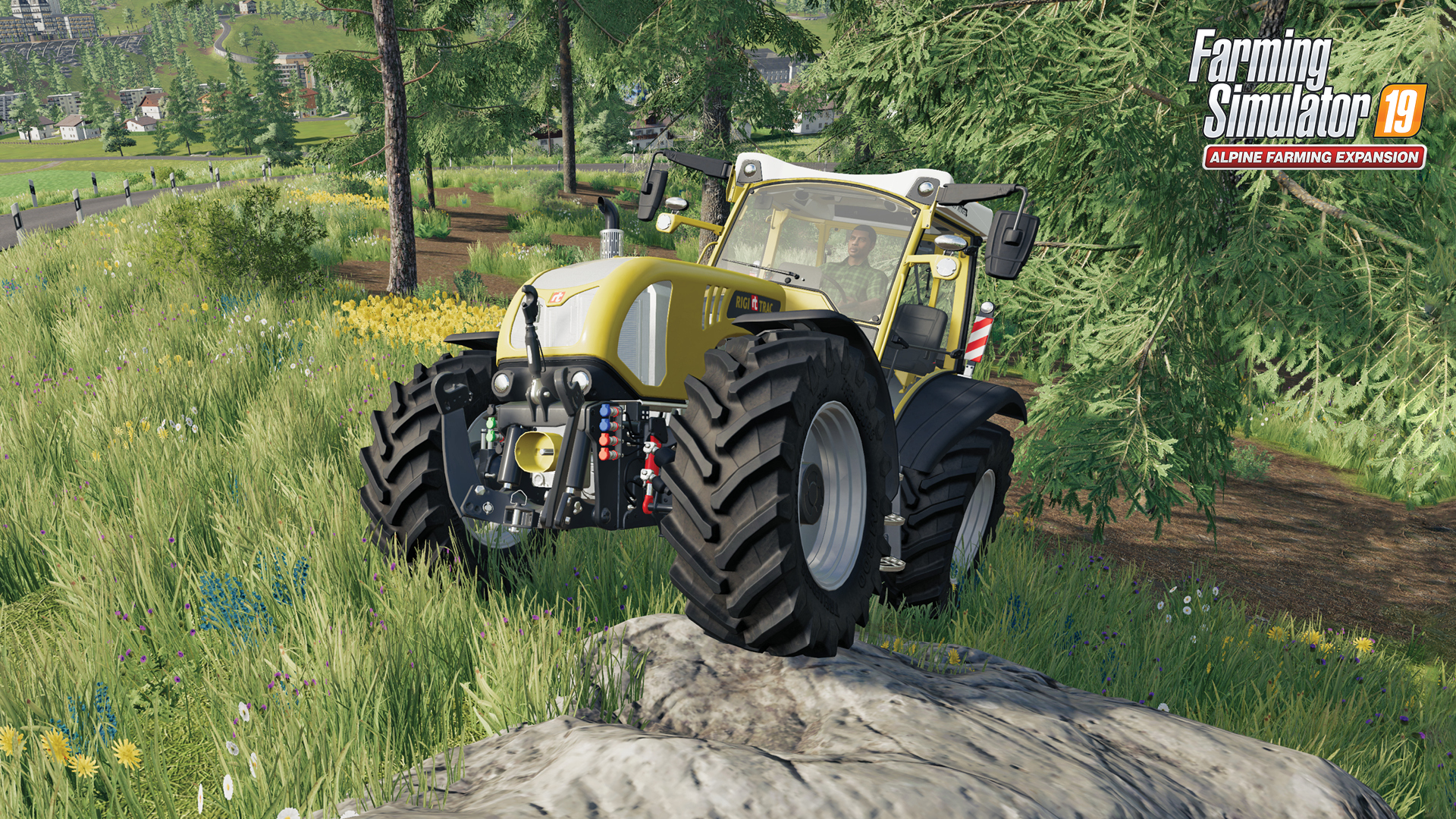 Get a glimpse of the new Alpine Farming Expansion map and vehicles!