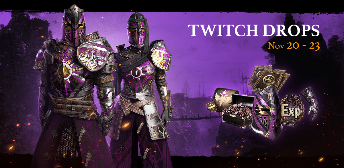 Start collecting an exclusive new attire in our Autumn Twitch Drop!