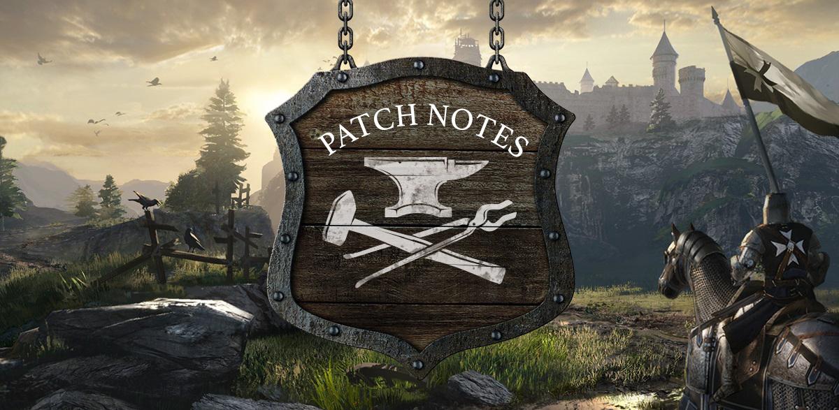 Conqueror's Blade :: Knights & Squires Patch Notes