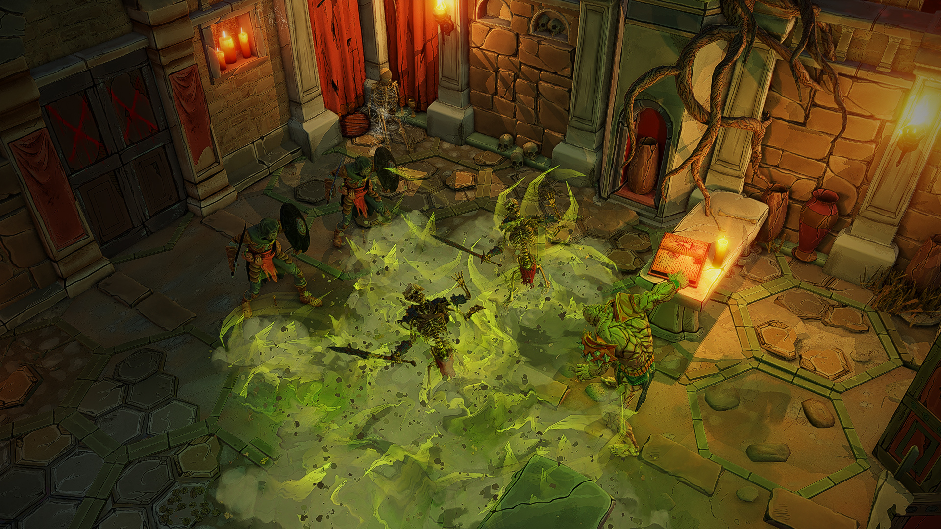Gloomhaven :: Dev Diary: The Dungeon Crawl - Conception