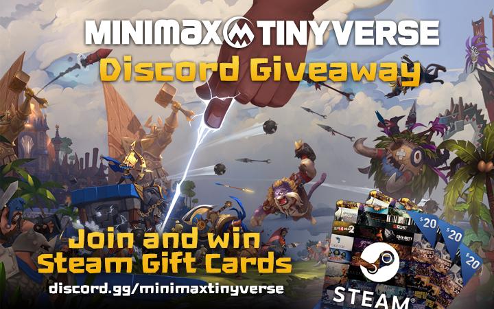 MINImax Tinyverse :: MINImax Tinyverse Official Discord Giveaway