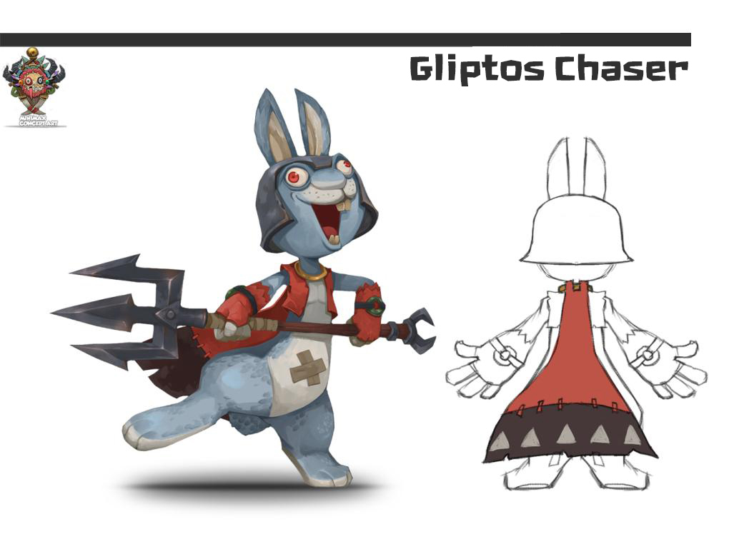 May 27 Introducing Gliptos Chaser! MINImax Tinyverse - Lemniscate8