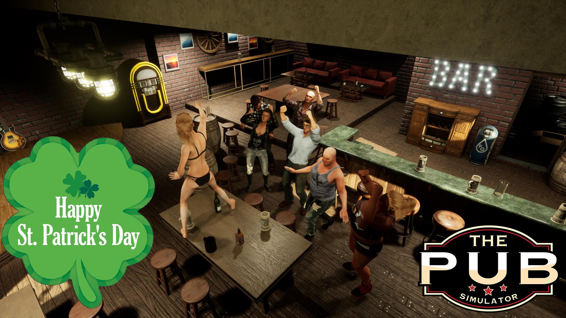 The PUB (simulator) :: Happy St  Patricks Day!