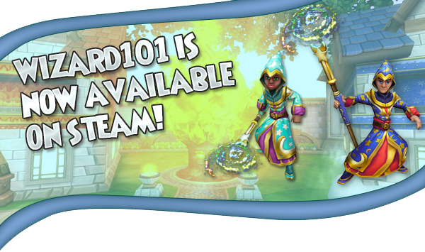 Wizard101 :: Wizard101 is Now Available on Steam!