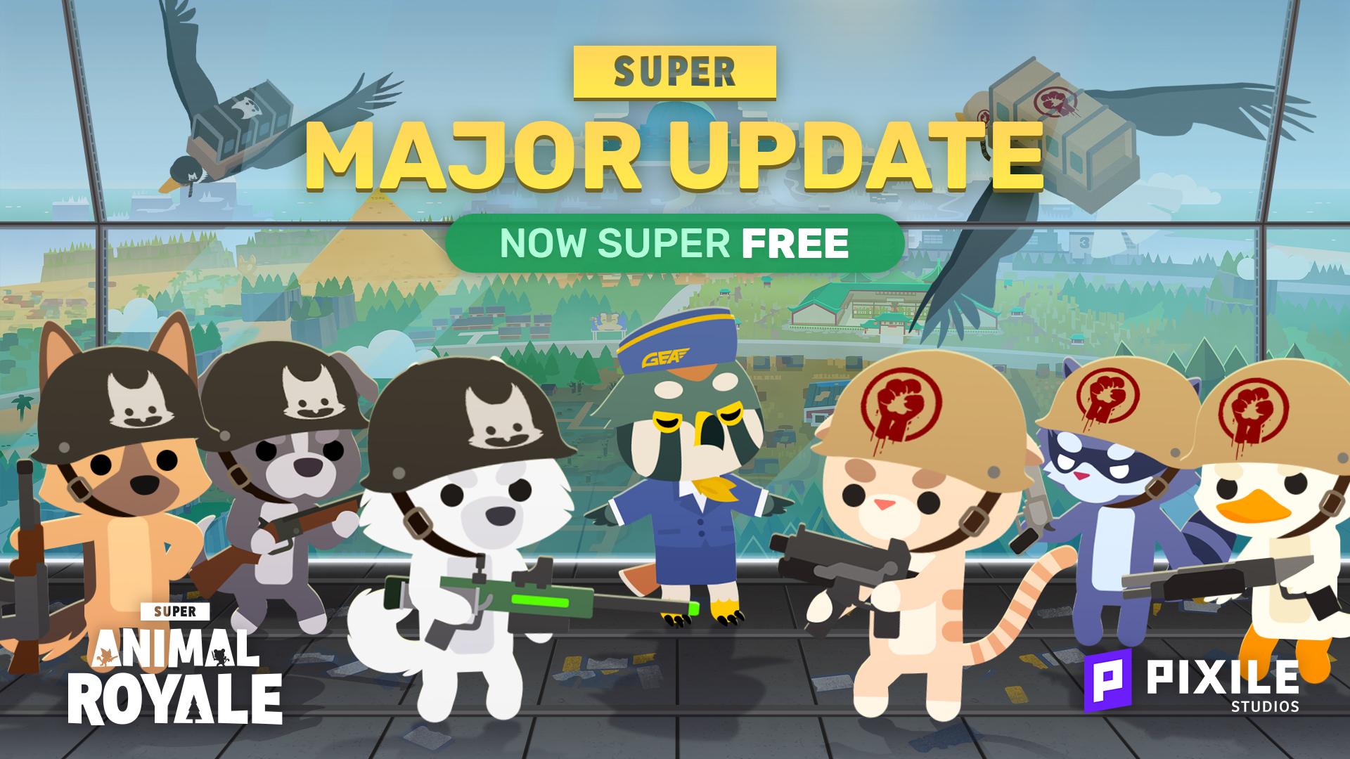 The Super Major Update is Here