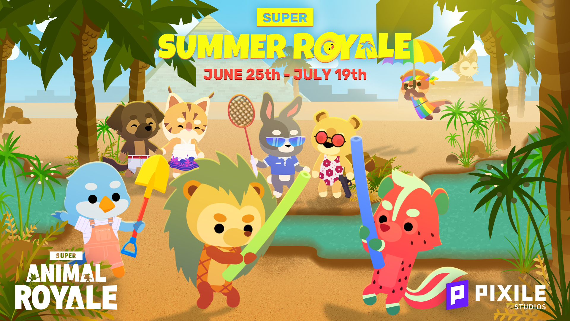 Super Summer Royale has arrived with new Super Animals and quick chat!