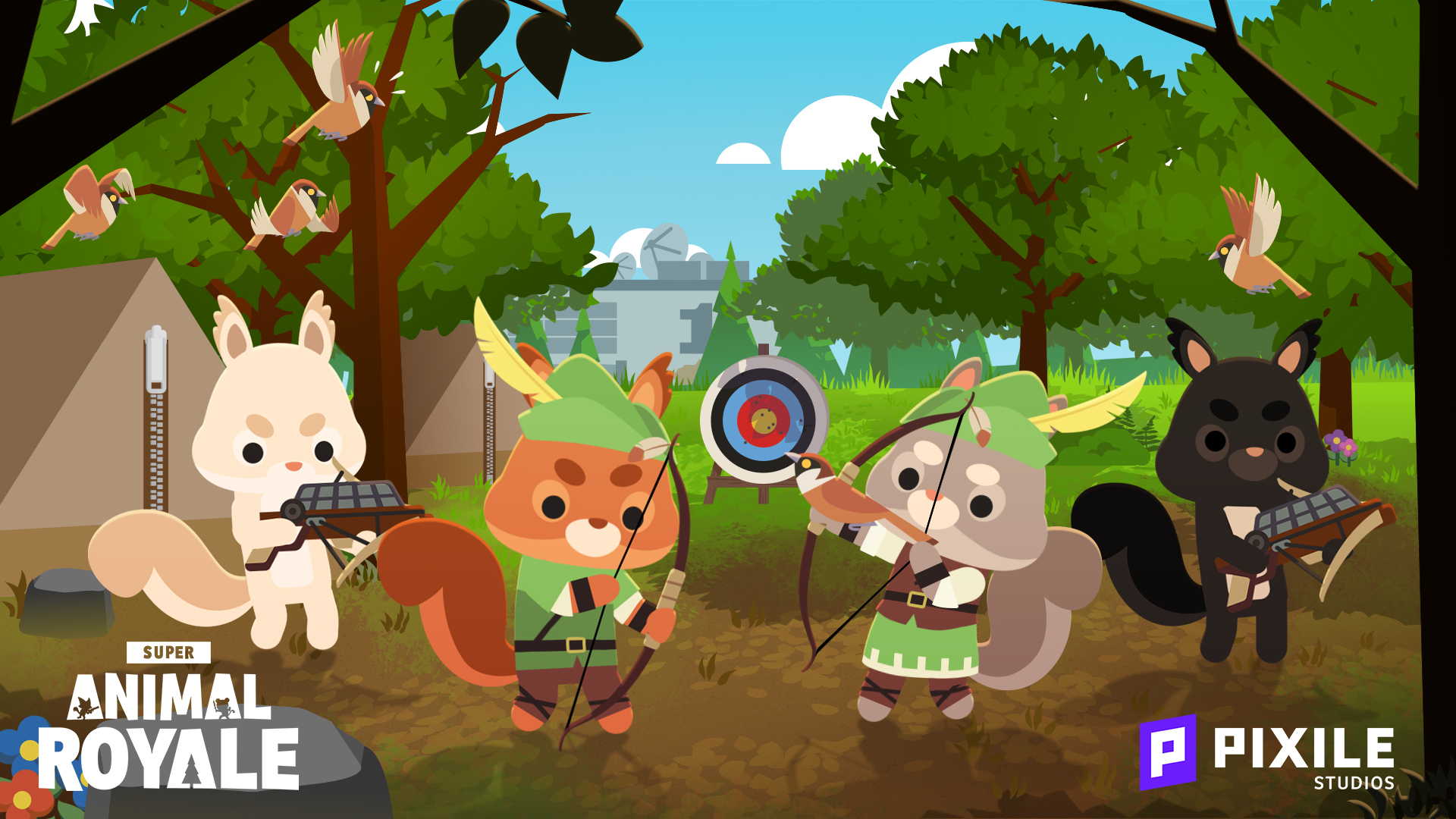 v0.95.2: Super Squirrels arrive with 2 new weapons and more!