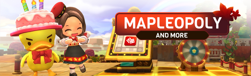 MapleStory 2 :: Mapleopoly Event and More!