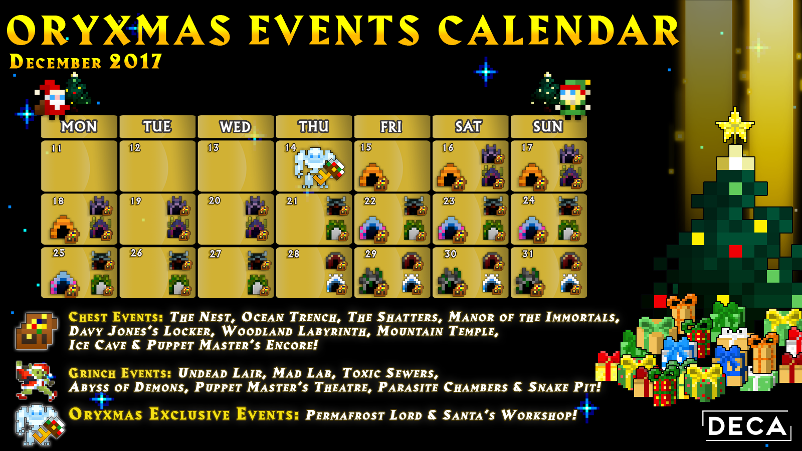 Dec 14, 2017 Patch X 20 1 - Oryxmas Eve! Realm of the Mad