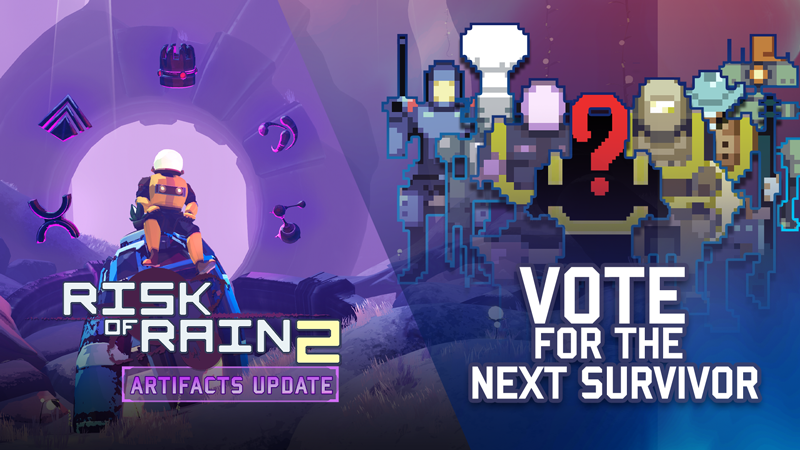 Risk Of Rain 2 Early Access Artifacts Content Update New Survivor Vote March 31 2020 Steam News The classic multiplayer roguelike, risk of rain, returns with an extra dimension and more challenging action. risk of rain 2 early access artifacts