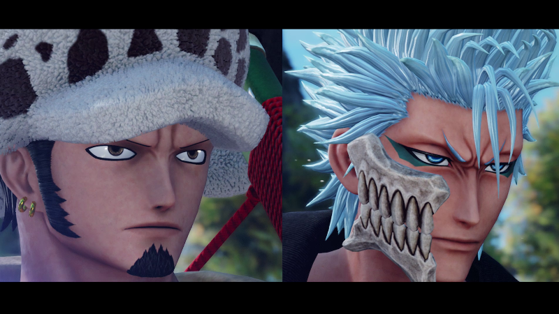 Grimmjow and Law join the fight!
