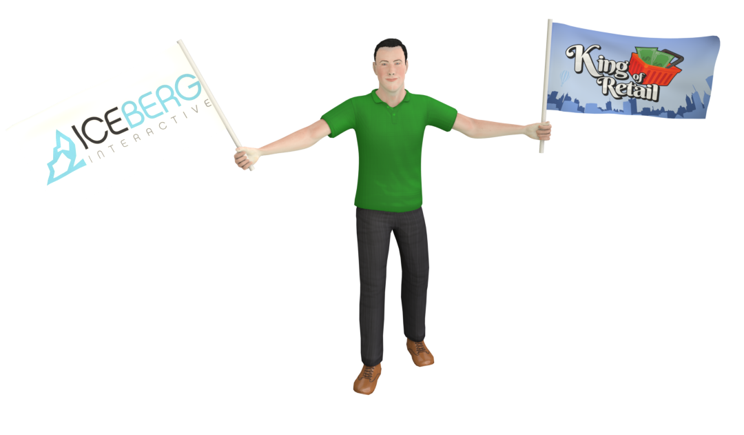 King of Retail has teamed up with Iceberg Interactive!