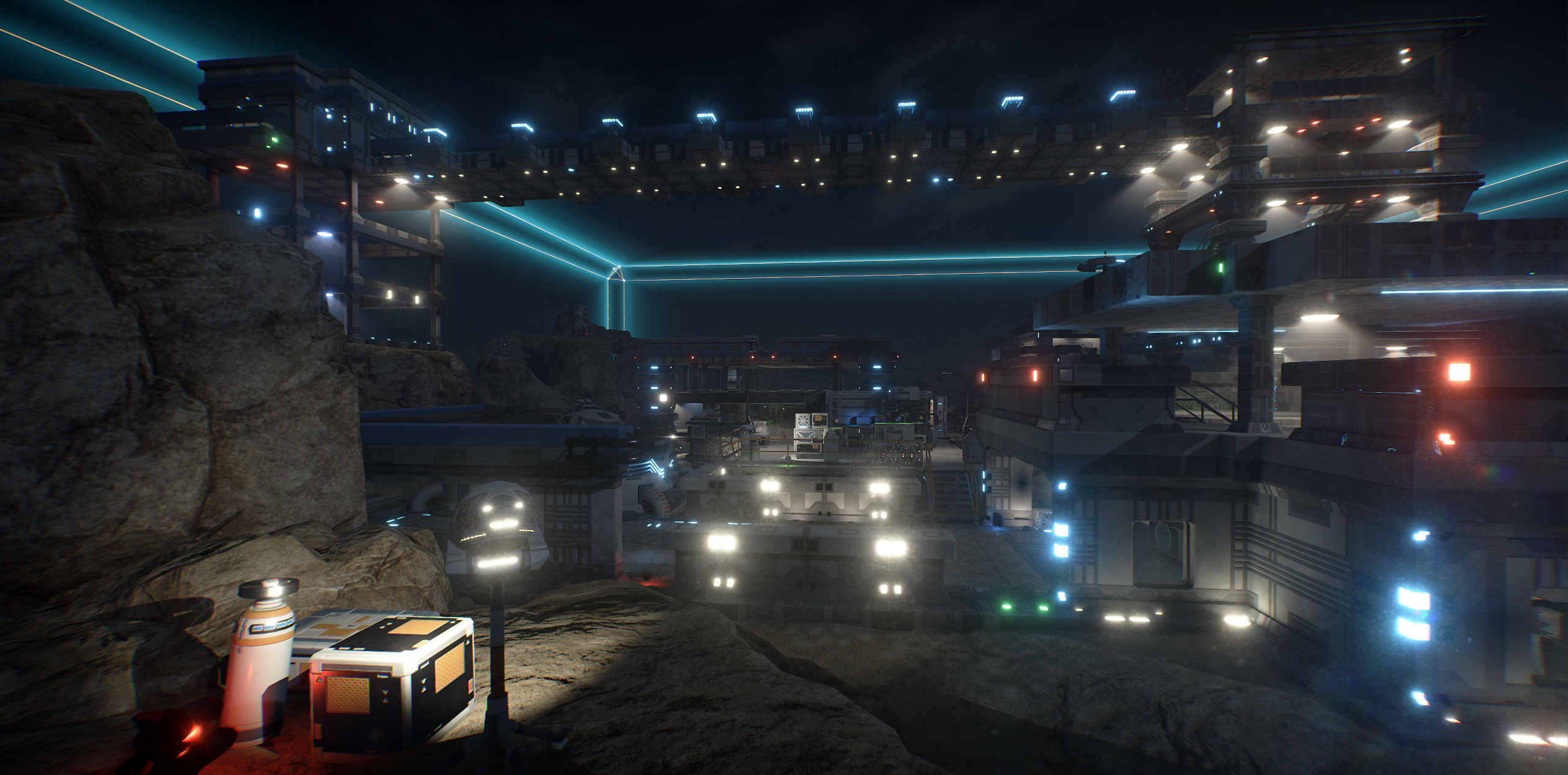 DRONE The Game :: Night arena coming soon!