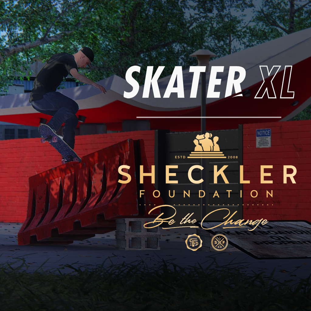 Skater XL x The Sheckler Foundation