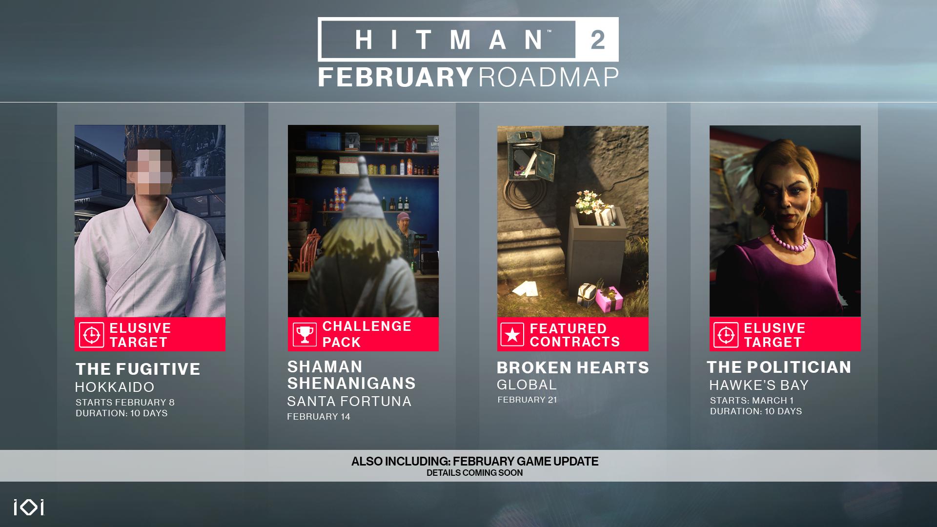 February Roadmap
