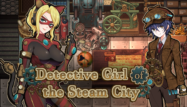 Detective Girl Of The Steam City Hentai