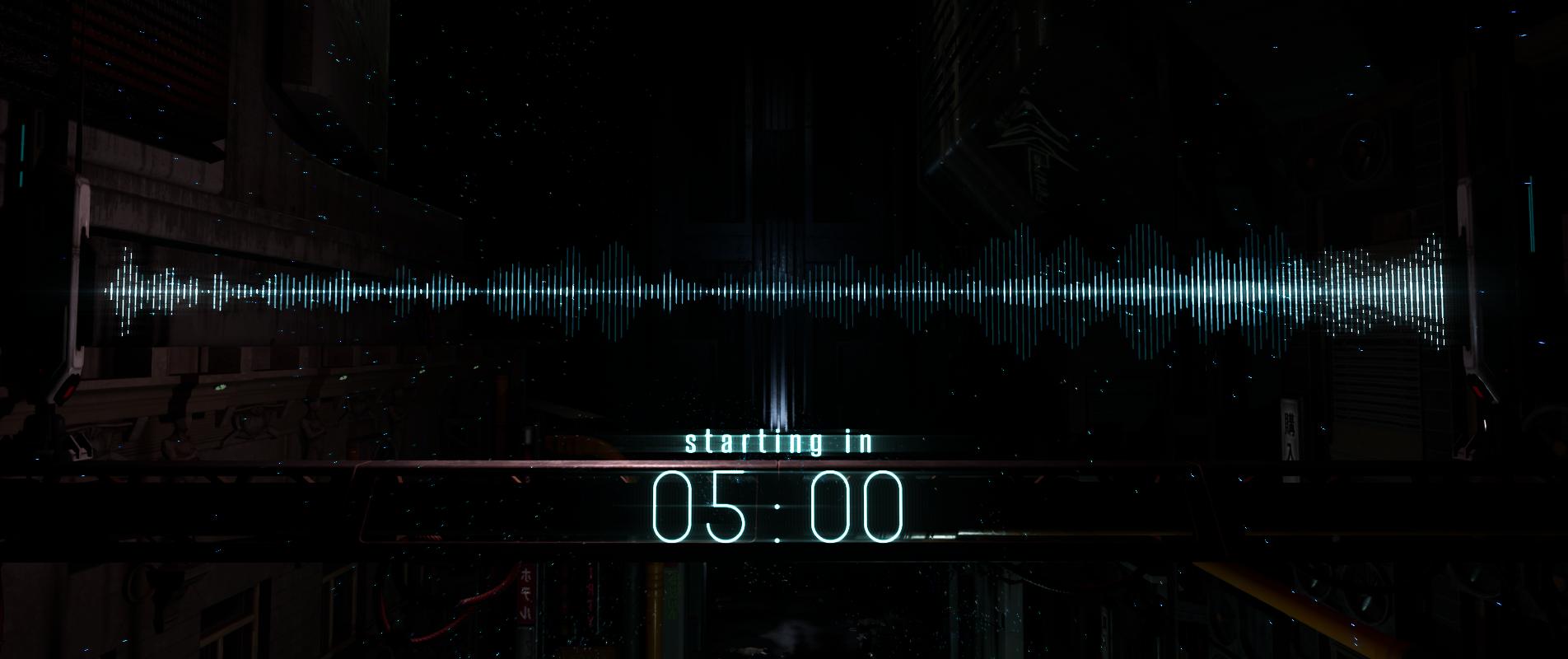 Overture Music Visualization :: Countdown Timer for Desktop