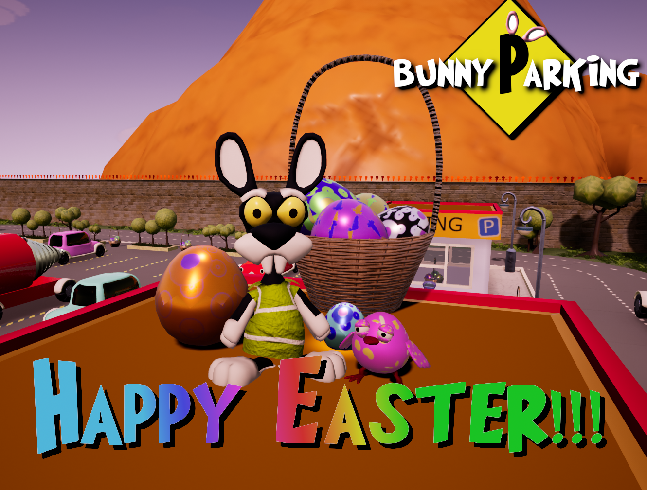 Bunny Parking :: Update 5 - Easter Time!